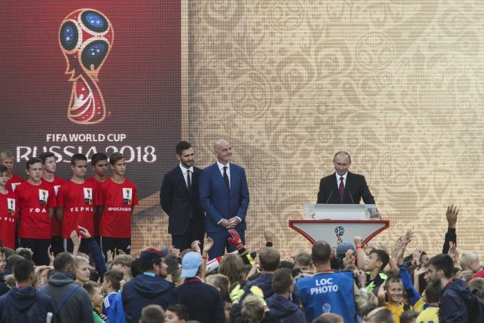 Putin and Russian World Cup 2018