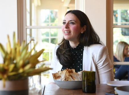 Lunch with oncologist and Cancer Fit founder Lina Pugliano