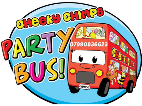 Cheeky Chimps Party Bus