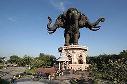 Erawan Museum near Suvarnabhumi Airport