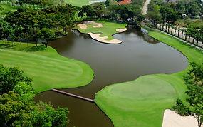 Thana City Golf Course near Suvarnabhumi Airport