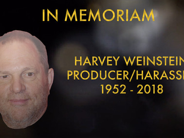 The Academy Adds Harvey Weinstein to In Memoriam Segment, Inevitably Setting up Greatest Hollywood C