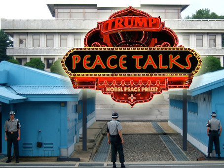Trump Readies DMZ for Korean Peace Summit