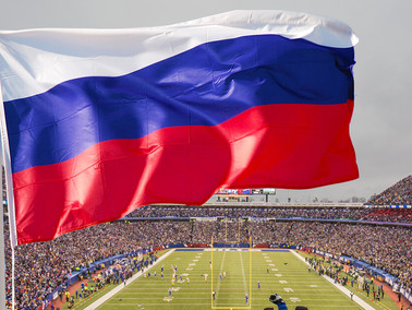 NFL to Fly Russian Flag at Games, Solving Player Protest Issue