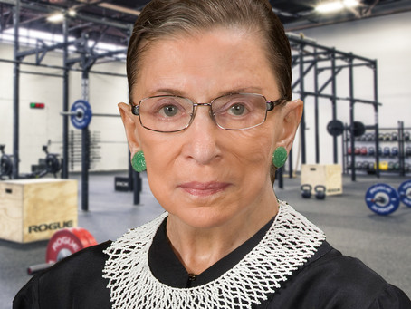 Justice Ginsburg Joins CrossFit in Effort to Extend Life Beyond 2024