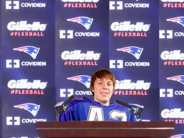 Patriots Sign High School Phenom as Super Bowl Secret Weapon