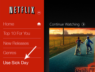 Netflix Debuts Feature That Calls You Out Sick When New Shows are Released