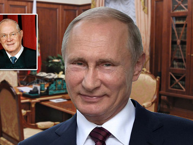 "Putin Prank Calls White House as Justice Kennedy, ""I'm No Longer Retiring"""