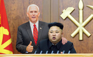 Kim Jong-un Offers North Korean Vice Presidency to Pence as Olive Branch