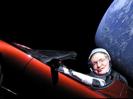 Stephen Hawking Laid to Rest in Deep Space Courtesy of Elon Musk