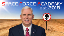 Mike Pence Unveils Plans for Space Force Academy at Area 51