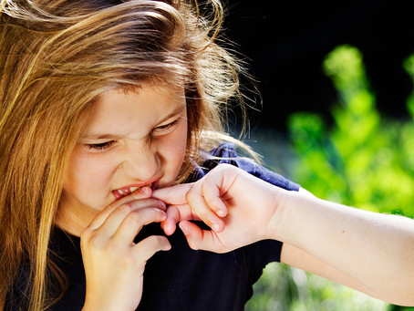 Unsure How to Stop Your Child From Biting Their Nails? Then Bite Them With Her.