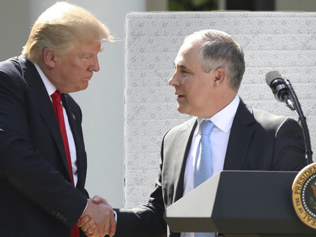 Trump Gives Personal Mattress to Scott Pruitt as Thank You for Faithful Service