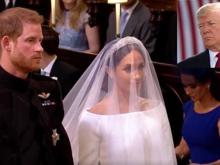 Trump Blames USPS for Losing Royal Wedding Invitation