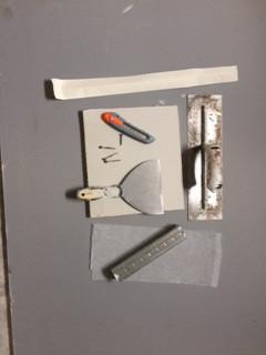Drywall tools.