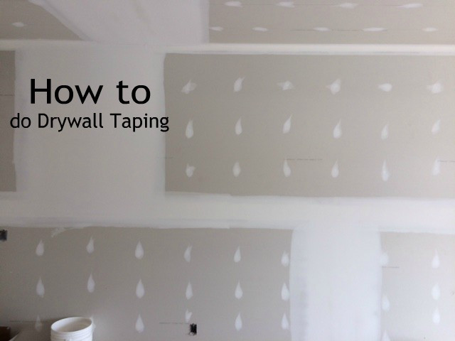 drywall taping 1 st coat