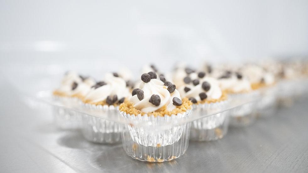 Chocolate Chip Vegan Cheesecake Bites