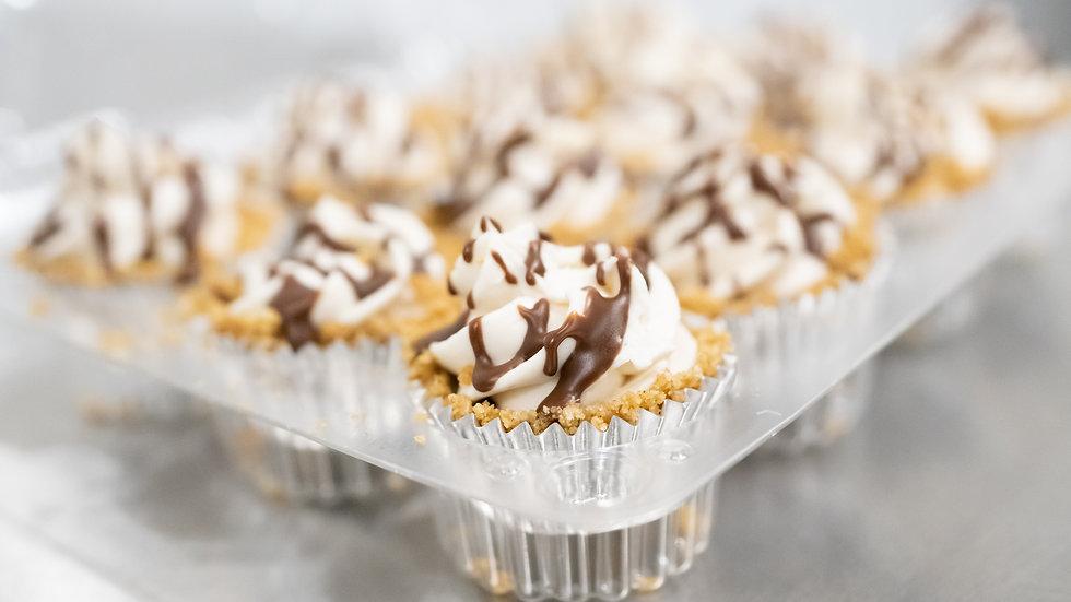 Peanut Butter Cup Vegan Cheesecake bites