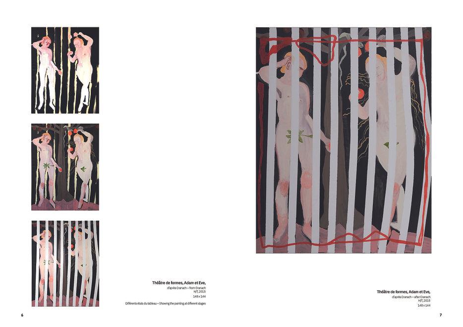 Pages de Cahier N°6 - Livret images Vers