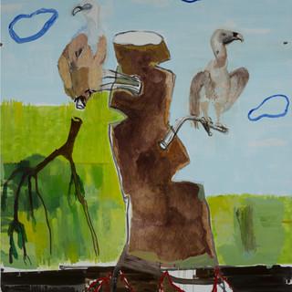 Arbre_et deux vautours_2013_195x160.JPG