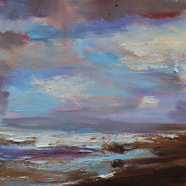 Plein-air oil painting 1