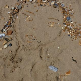 Sand Portrait