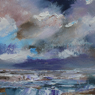 Plein-air oil painting 3