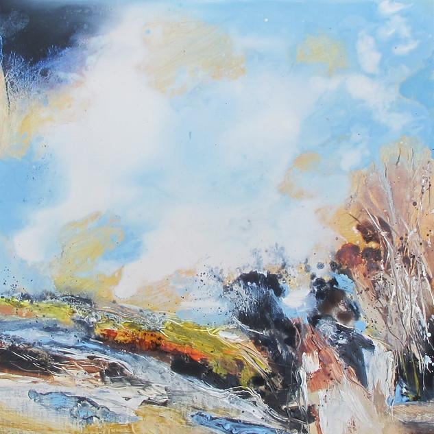Plein-air oil painting 4