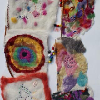 Felted fabrics