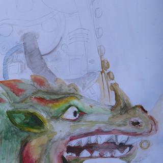 Dragon Still-life