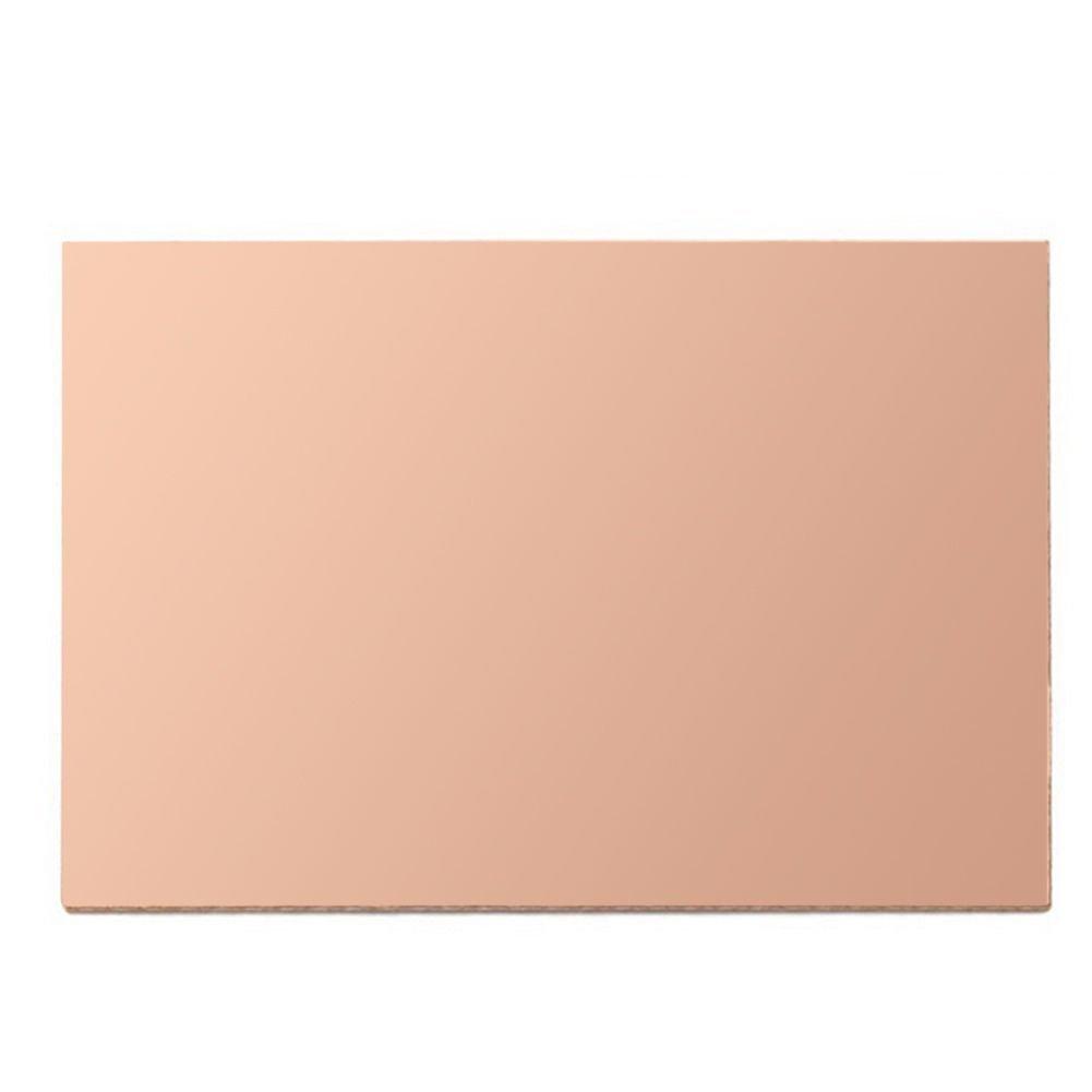 Single Sided Copper Clad Laminate PCB Circuit Board 12x16