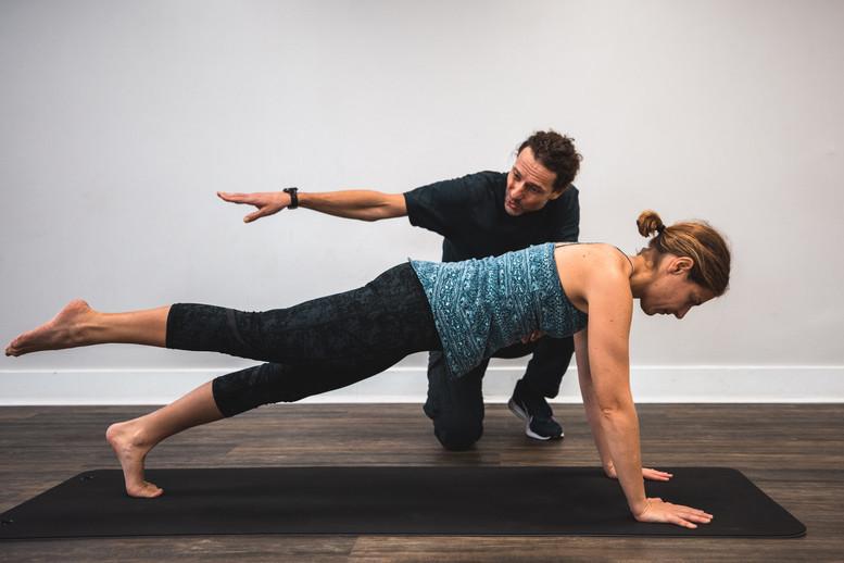 CK Coaching Leg Pull Front