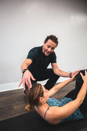 CK Coaching Single Leg Stretch