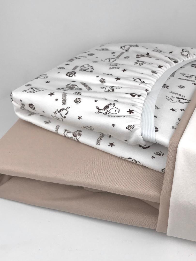 постельное бельё в кроватку простыни с р