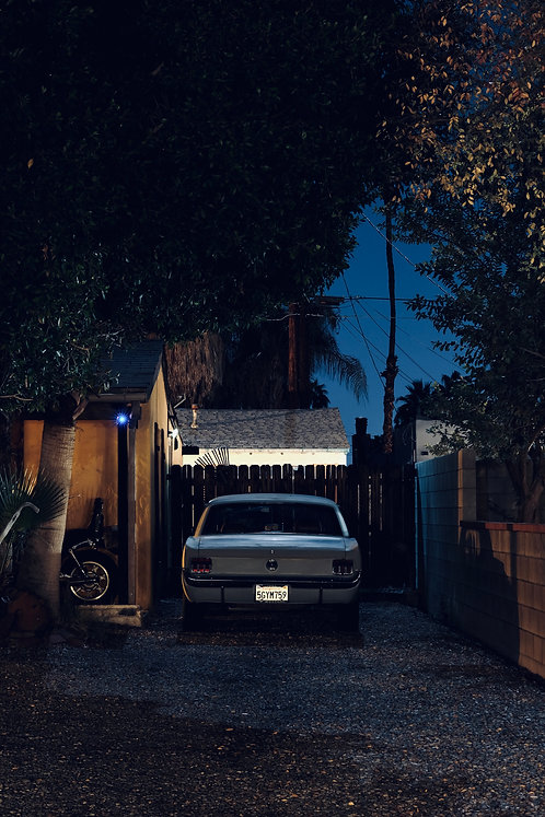 Nightfall in Palm Springs