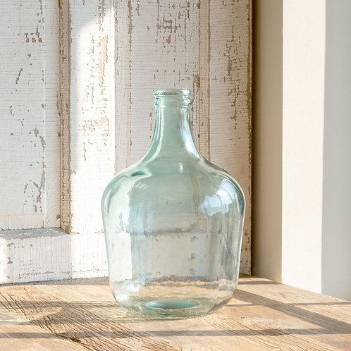 "Clear Cellar Vase - 10"" x 16"" T"