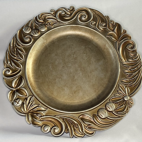 Champagne Ornate Charger