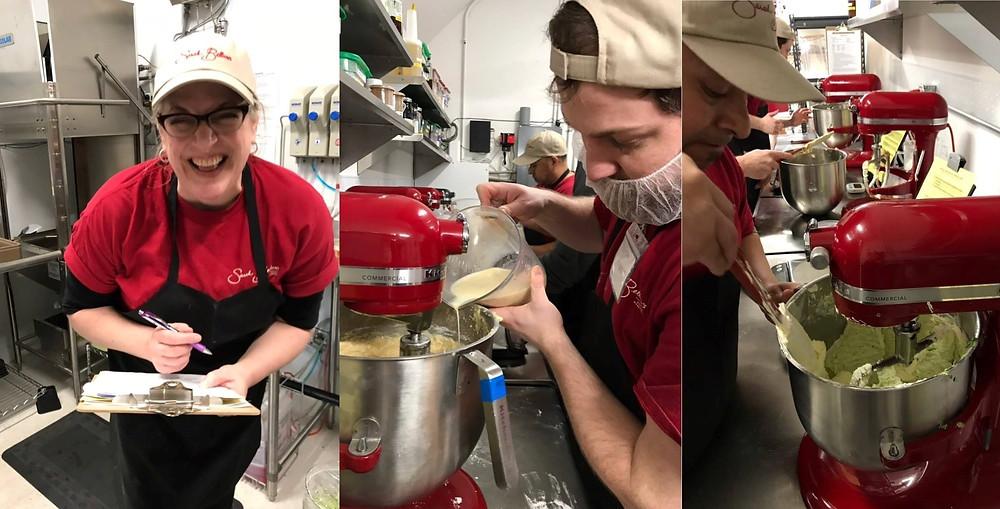 Baking with brain injury