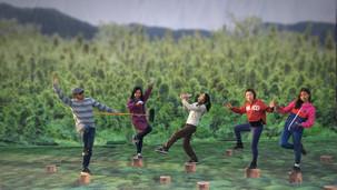 大埔林村 3D地畫