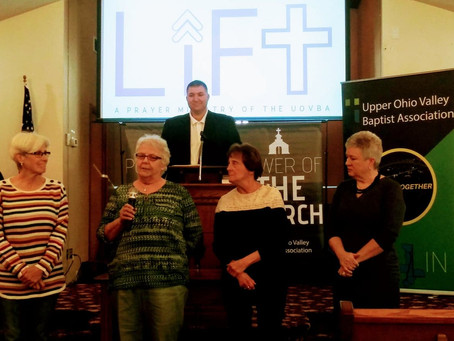 Lift Prayer Ministry Commissioning Service