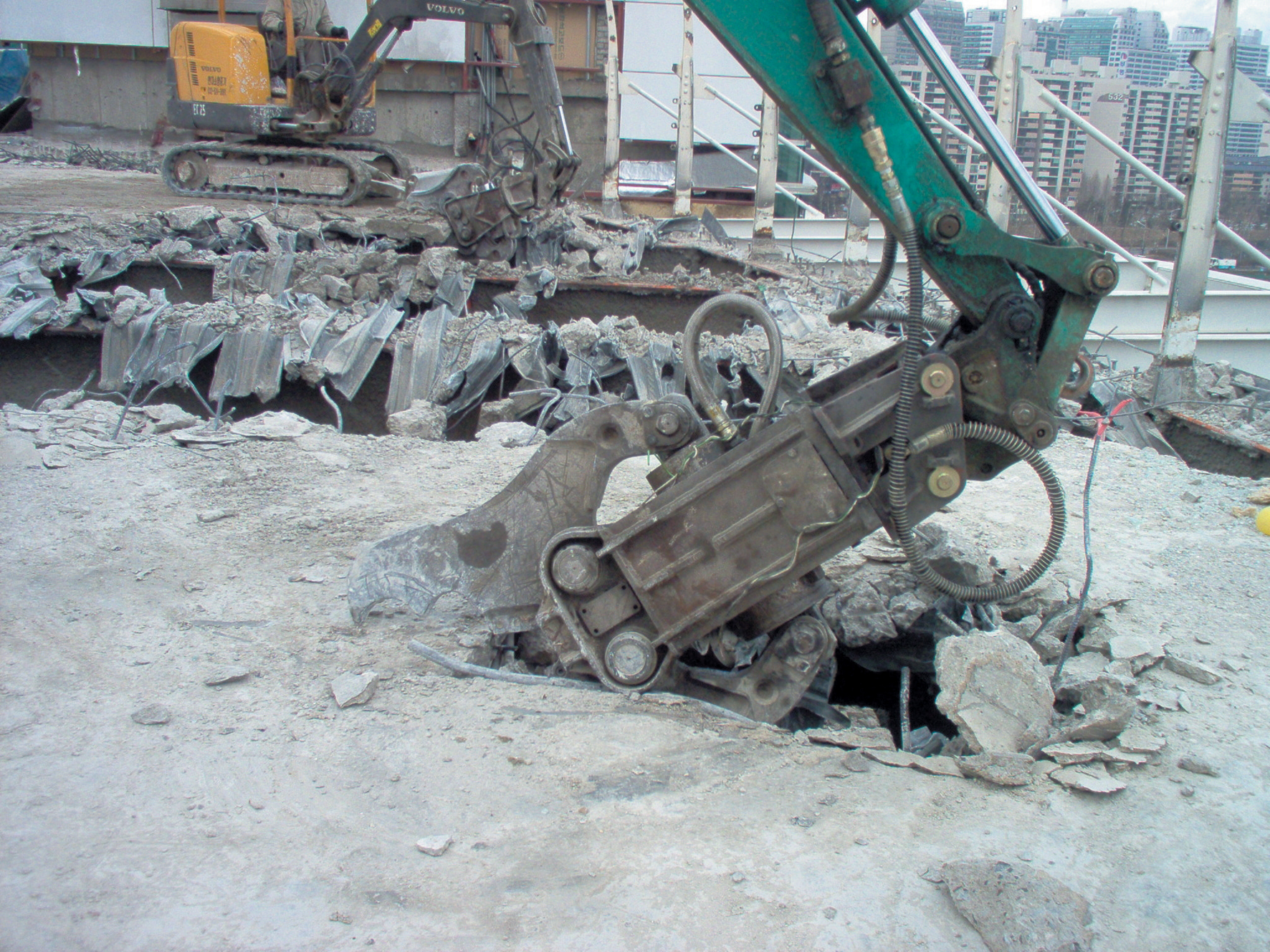 concrete crusher