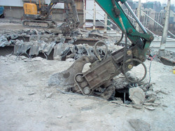 concrete crusher