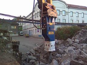 hydraulic breaker, hydraulic hammer, rock breaker