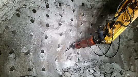 rock splitter, concrete splitter