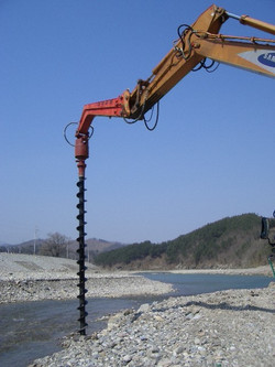 Earth Auger Drill