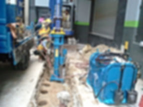 rock drill, rock drilling, auger drill, core drill