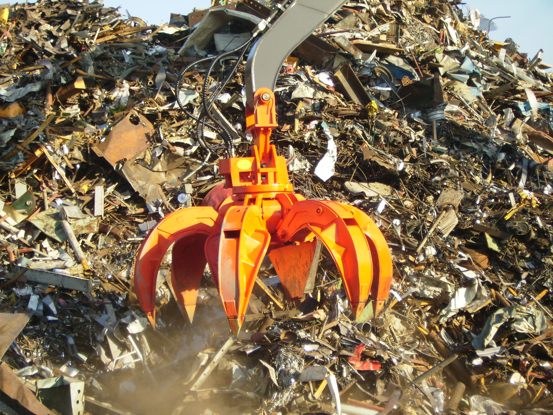 Orange Scrap Grapple