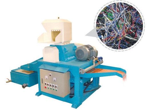 cable granultator, cable chopper, wire granulator, wire chopper