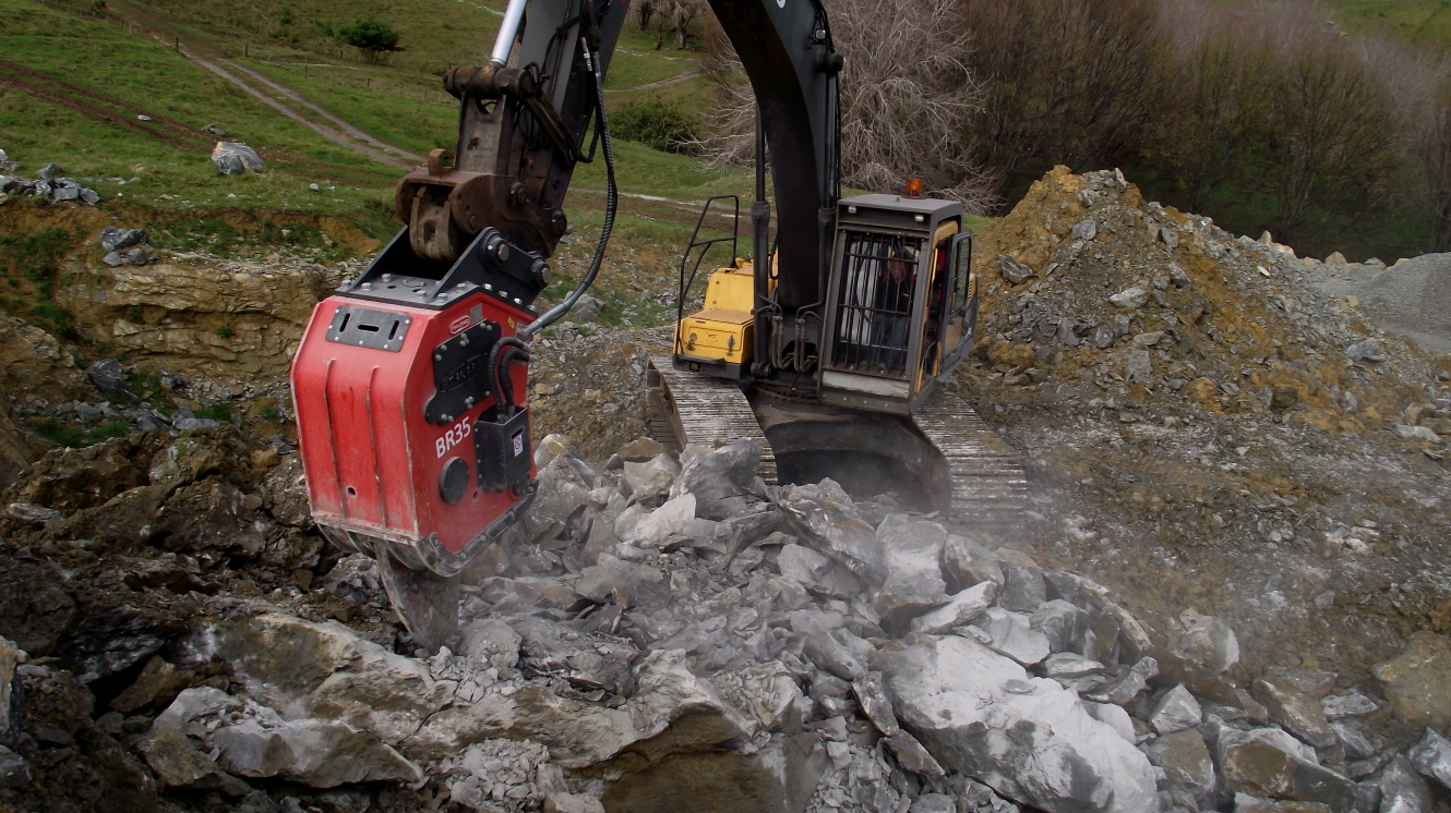 Vibro Demolition Ripper