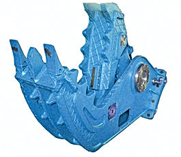 concret crusher, metal shears, pulverizer
